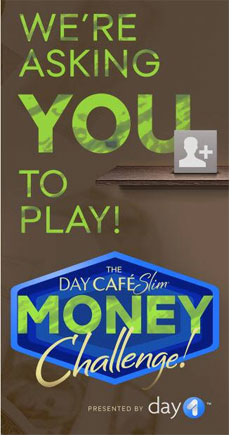 Day 1 Café Slim Money Challenge